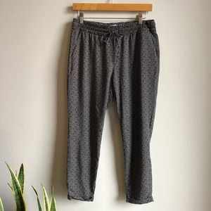 Old Navy | Drawstring Patterned Pants - Small